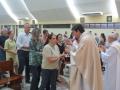 Missa em Ação de Graças pelo Dia do Idoso e confraternização no Salão Maior