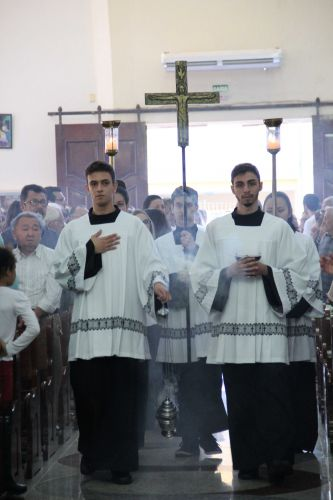 Missa e Procissão de Corpus Christi
