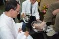 Missa de lava pés e Instituição da Eucaristia - Capela São Maximiliano Maria Kolbe