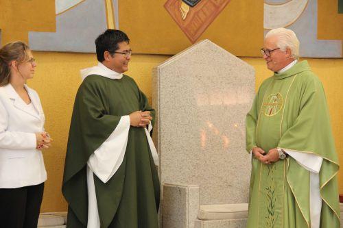 Posse do Monsenhor Hélio Takemi como Vigário