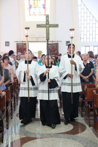 Tríduo votos Noviça Kêise 3 dia e Benção da Garganta